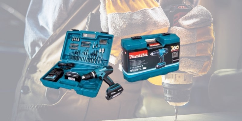 Perceuse visseuse à percussion Makita HP457DWE10