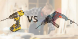 Perceuse filaire vs sans fil